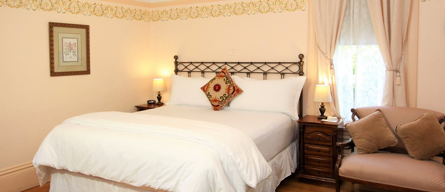 Luxurious Accommodations in Downtown Napa at The Napa Inn